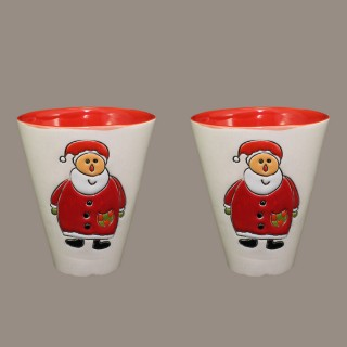""""""" Santa Claus"""" Mug Type Bell"""