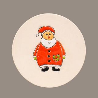 """ Santa Claus"" Plate Size S"