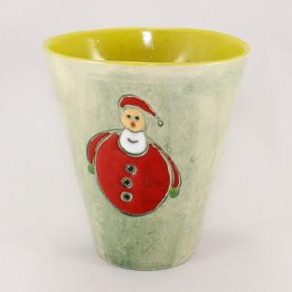 Santa - model 2 - cone mug