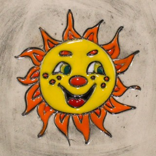 Smiling Sun - plate size S