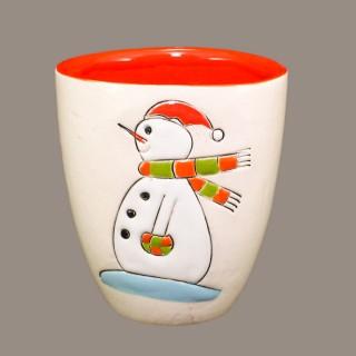 """""""Snowmen """" Model 3 Mug Type Bell"""
