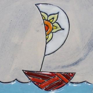 The Boat 1 - cone mug