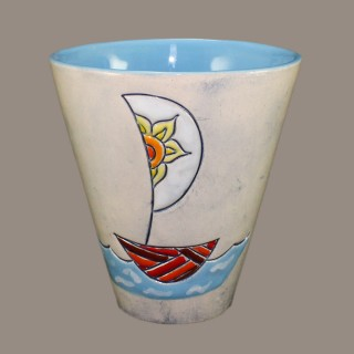 Mug with a boat 2 Cups