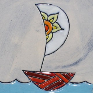 The Boat - plate size S - model 1