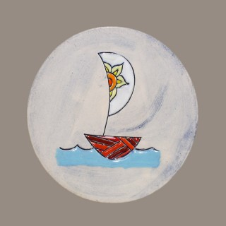 The Boat - plate size S - model 2