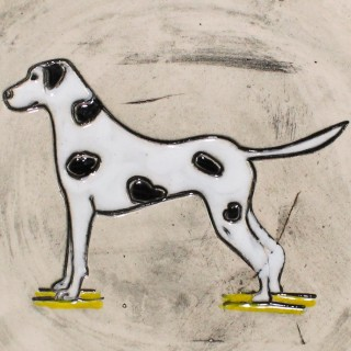 The Dalmatian - plate size S