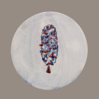The Dots Tree - plate size S - model 1