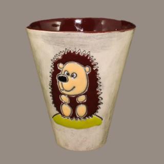 The Hedgehog - cone mug