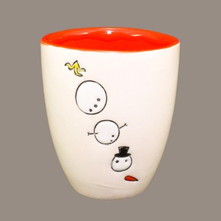 """ The snowmen's game"" Mug Type Bell"