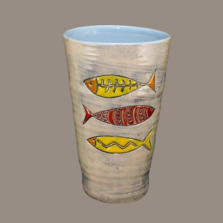 Water Cup 061 Three Fish