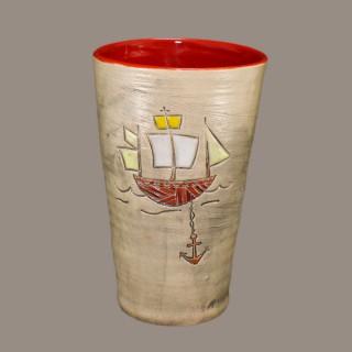 Water Cup 073 Sailing Ship