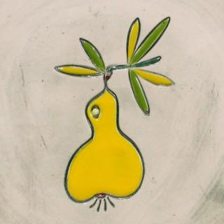 Yellow Pear - mug bell