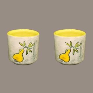 Yellow Pear Small Shot Set