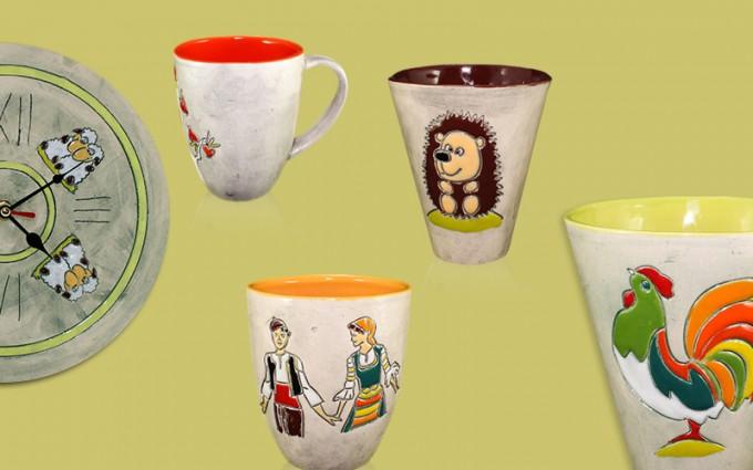 Bulgarian folklore, recreated in ceramics